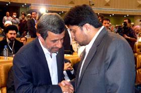 ایران: ڈاکٹر حسین محی الدین قادری کی تہران کانفرنس میں ایرانی صدر محمود احمدی نژاد سے ملاقات