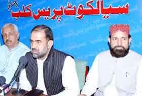 صدر پاکستان عوامی تحریک ڈاکٹر رحیق احمد عباسی کا دورہ سیالکوٹ