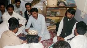 سندھ: منہاج القرآن یوتھ لیگ ڈھرکی کا اجلاس