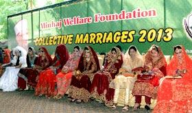 منہاج ویلفیئر فاؤنڈیشن کے زیراہتمام 24 شادیوں کی سالانہ اجتماعی تقریب