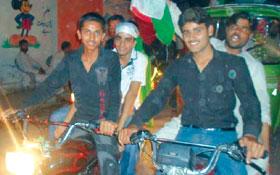 اسلام آباد: پاکستان عوامی تحریک کی کرپٹ نظام انتخاب کے خلاف موٹر سائیکل ریلی