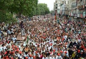 پاکستان عوامی تحریک کا کرپٹ نظام انتخاب کے خلاف ملک بھر میں پرامن دھرنا