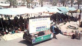 کراچی: پاکستان عوامی تحریک کے زیر اہتمام کرپٹ نظام انتخابات کے خلاف احتجاجی دھرنا