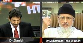 Dr Tahir-ul-Qadri with Dr Danish on ARY News in Sawal Yeh Hai (Election 2013)