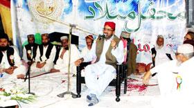 منہاج القرآن یوتھ لیگ اسلام آباد کے زیراہتمام سالانہ محفل میلاد النبی صلی اللہ علیہ وآلہ وسلم
