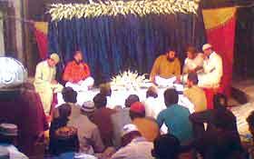 لاہور: منہاج القرآن یوتھ لیگ گلبرگ ٹاؤن بی کے زیراہتمام عرس تقریب