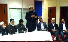 لندن: منہاج القرآن ایسٹ لندن میں وولچ واقعہ پر تمام مرکزی مساجد کے علماء کا  مشترکہ اجلاس