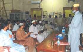 جیکب آباد: آئیں دین سیکھیں کورس کی تعارفی کلاس