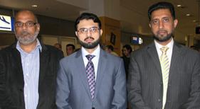ڈاکٹر حسن محی الدین قادری کی یونان آمد اور پرتپاک استقبال