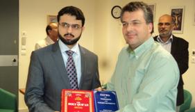 یونان : وزارت مذہبی امور کے جنرل سیکرٹری یورگوکالانجی کی ڈاکٹر حسن محی الدین قادری سے ملاقات