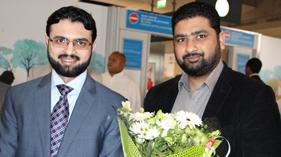 فرانس: ڈاکٹر حسن محی الدین قادری دو روزہ دورہ پر فرانس پہنچ گئے