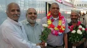 ویانا: شیخ محبوب عالم وارثی عمرہ کی سعادت حاصل کرکے ویانا ( آسٹریا) پہنچ گئے