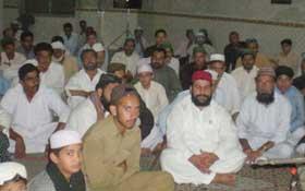 گوجر خان: تحریک منہاج القرآن کے زیراہتمام شب برات کے موقع پر محفل کا انعقاد