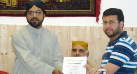 آسٹریا: منہاج القرآن سنٹر میں جرمن کورس کی کامیاب تکمیل پر تقریب تقسیم اسناد