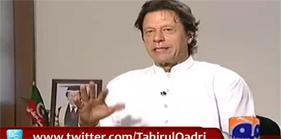 Imran Khan admitted again that Dr Tahir-ul-Qadri was right