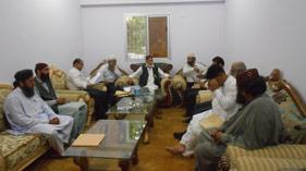 سندھ: تحریک منہاج القرآن کے صوبائی مرکز میں رمضان المبارک کا خصوصی اجلاس