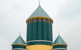 گوشہ درود کی پُر شکوہ عمارت منارۃ السلام کا تصویری منظر