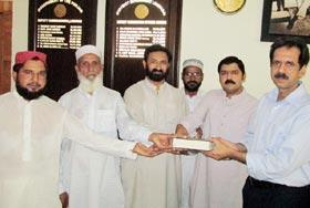 لودھراں: پانچویں سالانہ دروس عرفان القرآن میں ڈی سی او لودھراں کو شرکت کی دعوت