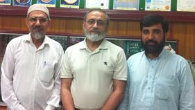 پاکستان: بیرون ممالک سے مختلف تنظیمی عہدیداروں کی مرکزی سیکرٹریٹ آمد