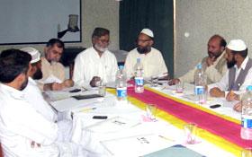 راولپنڈی: تحریک منہاج القرآن آزاد کشمیر کی ایگزیکٹو کونسل کا اجلاس