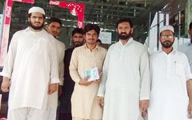 تحریک منہاج القرآن لودھراں کے زیراہتمام دروس عرفان القرآن کی دعوتی مہم