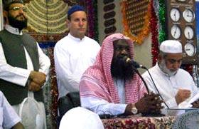 Imam e Ka'ba visits MQI Centre in Japan