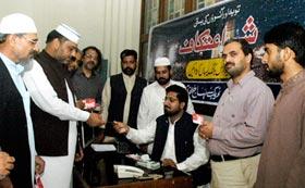 شہر اعتکاف 2013ء کی رجسٹریشن کا آغاز کر دیا گیا