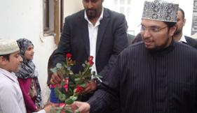 ڈنمارک: ڈاکٹر حسین محی الدین قادری کے اعزاز میں ظہرانہ