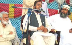 رانا محمد ادریس قادری کا سابق وزیر خارجہ محمد صدیق کانجو شہید کی برسی پر خطاب