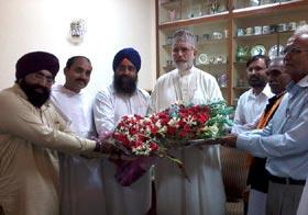 مختلف مذاہب کے راہنماؤں کی ڈاکٹر طاہرالقادری سے ملاقات اور عید کی مبارکباد
