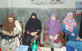 جہلم: منہاج القرآن ویمن لیگ کا تربیتی کنونشن