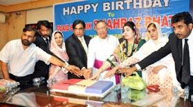 لاہور: مسیحی رہنما شہباز بھٹی کے یوم پیدائش کی تقریب میں ڈائریکٹر انٹرفیتھ ریلیشنز سہیل احمد رضا کی شرکت
