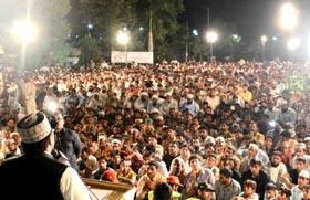 Dr Tahir-ul-Qadri's agenda has popular support: Dr Hussain Mohi-ud-Din Qadri addresses Workers Convention in Faisalabad