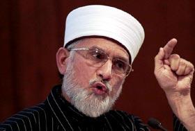 Dr Tahir-ul-Qadri warns of threats to the country