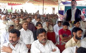 اوکاڑہ: پاکستان عوامی تحریک کے زیراہتمام ورکرز کنونشن