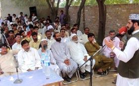 گڑھاموڑ: استحصالی نظام کے خاتمے کیلئے کارکنان تیاری جاری رکھیں، علامہ ارشاد سعیدی کا ورکرز کنونشن سے خطاب