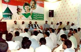 چوک اعظم (لیہ): ورکرز کنونشن پاکستان عوامی تحریک
