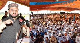 Dr Hassan Mohi-ud-Din Qadri lays the foundation stone of Minhaj Islamic Centre Nowshera Virkan, Gujranwala