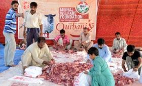 Collective sacrifice held under MWF