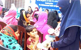 لاہور: منہاج القرآن ویمن لیگ کا دارالامان شیلٹر ہوم میں خواتین کے اعزاز میں تقریب کا انعقاد