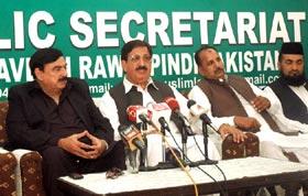 Ready to join hands with Dr Tahir-ul-Qadri for change: Sheikh Rashid Ahmad