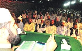 پاکستان کے یزیدی نظام سیاست کو حسینی کردار کے ذریعے ختم کرنا ہو گا۔ علامہ ارشاد حسین سعیدی