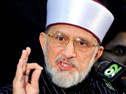 Dr Tahir-ul-Qadri terms armed struggle against an Islamic state as un-Islamic & revolt