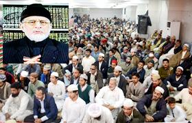 امام عالی مقام علیہ السلام  کی شہادت نے ثابت کر دیا کہ دین کا نظم سب سے بڑھ کر ہے۔ شیخ الاسلام کا شہادت امام حسین ؑ کانفرنس سے خطاب