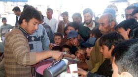 گوجر خان: تحریک منہاج القرآن کے زیراہتمام ''سبیل بیاد شہدائے کربلا'' کا انعقاد