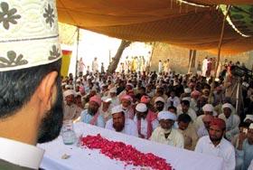 حافظ محمد بلال شہید کی قل خوانی کی تقریب سے مفتی ارشاد حسین سعیدی کا خطاب