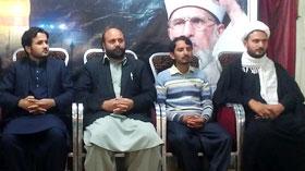 مظفر آباد: ظلم کے خلاف آواز بلند کرنا ہی کردار حسینی ہے۔ چوہدری عرفان یوسف