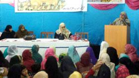 نواب شاہ: منہاج القرآن ویمن لیگ کے زیراہتمام سیدہ زینب رضی اللہ عنہا کانفرنس  کا انعقاد