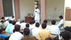 کارنر میٹنگ تحریک منہاج القرآن یونین کونسل ڈھپئی تحصیل نور پور