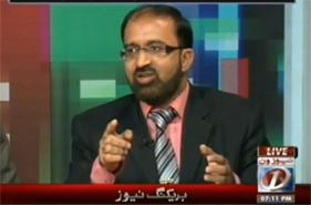 Umar Riaz Abbasi on Dawn News in program Infocus